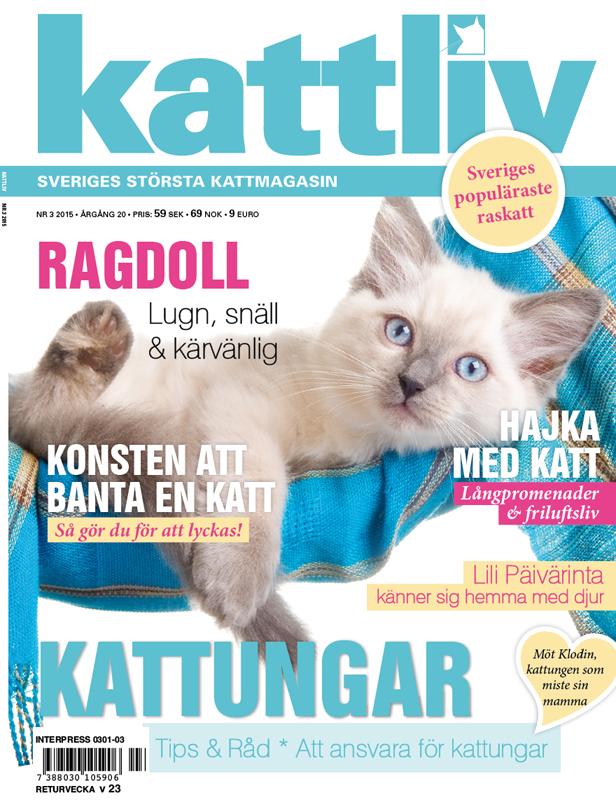 Tidningen Kattliv nr 4