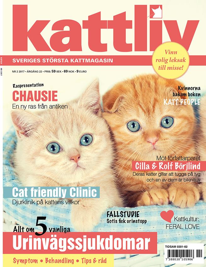 Tidningen Kattliv nr 2