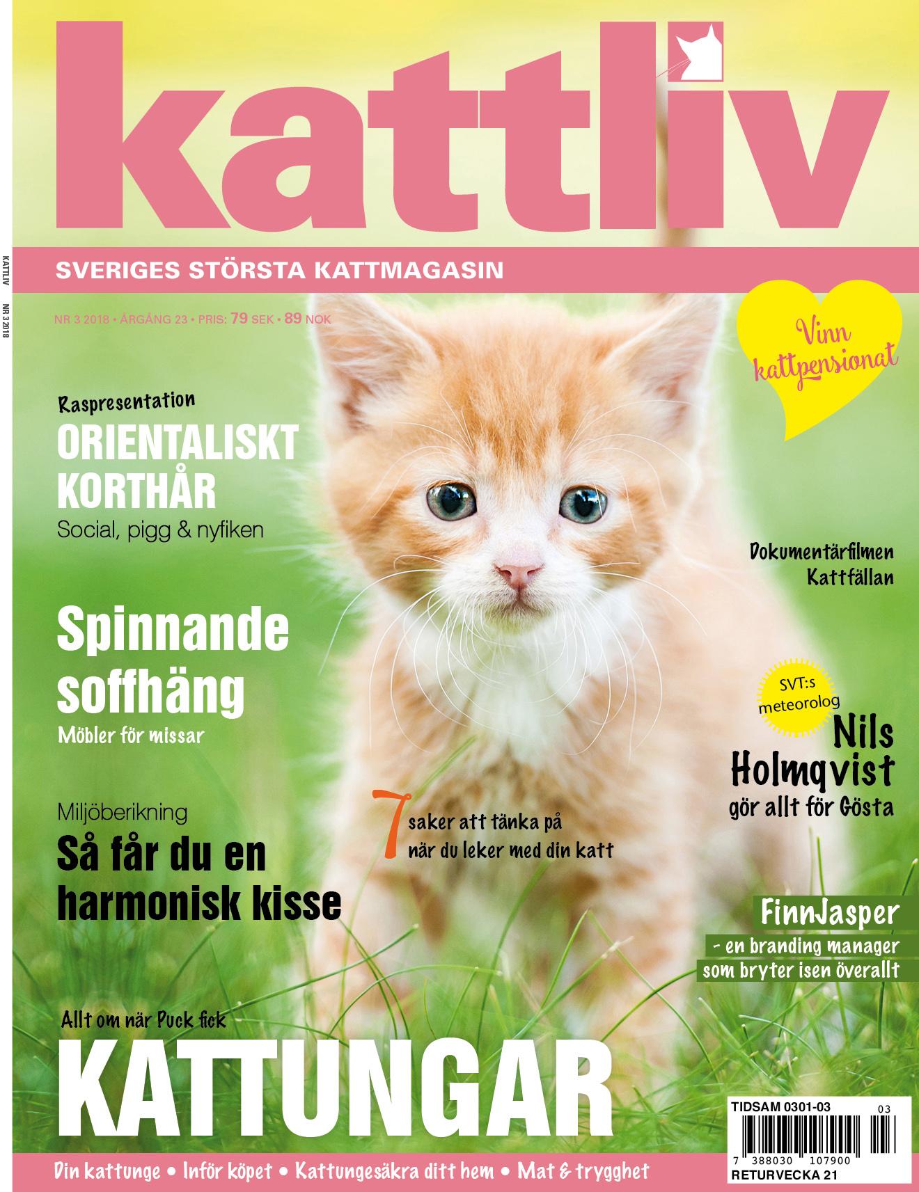 Tidningen Kattliv nr 3